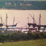 Rick Milton, Tall Ships Await Curious Passengers at the Newburgh Waterfront