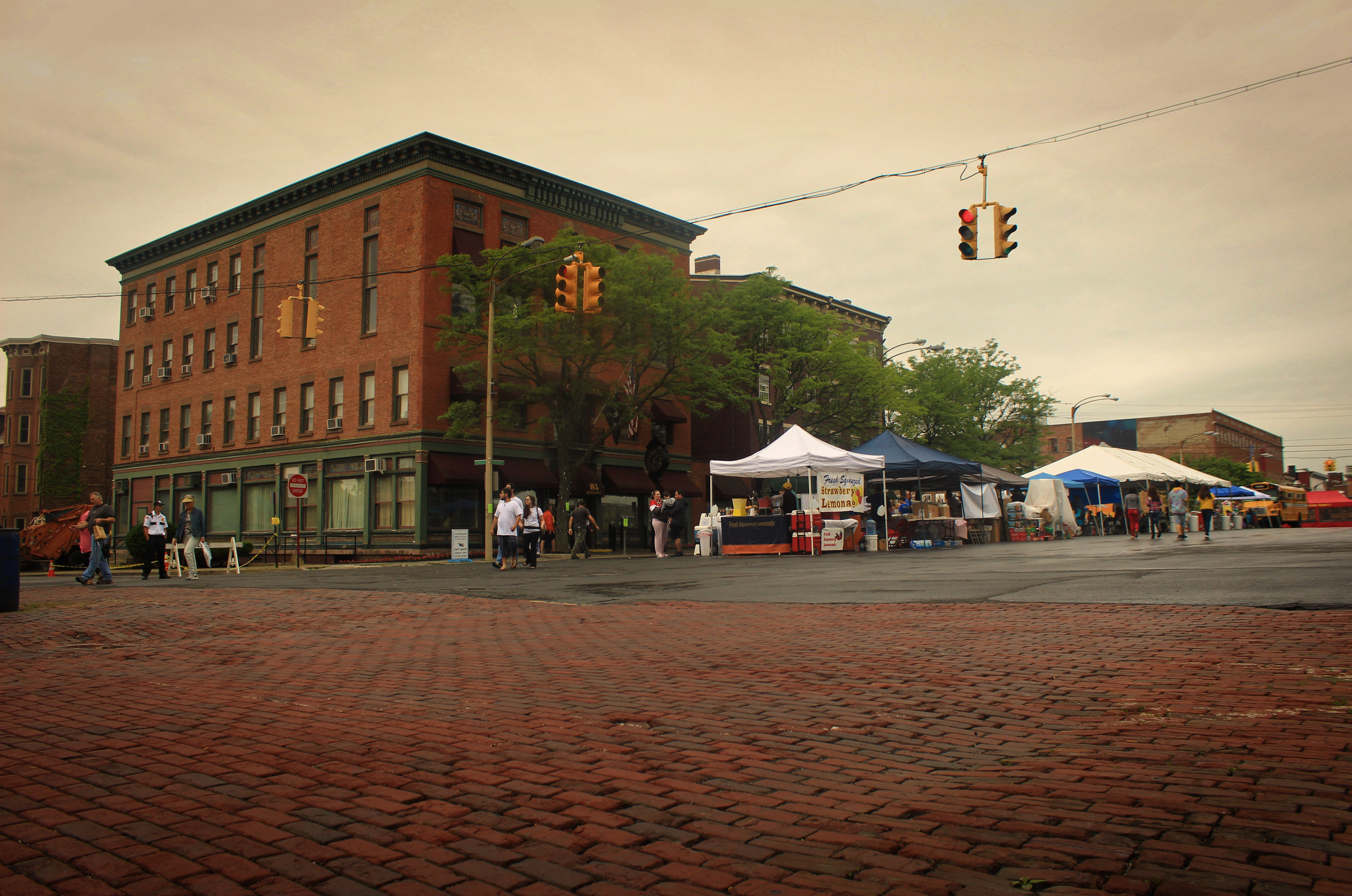 """Newburgh Today"" taken at the corner of Grand.St and Broadway by Steven Rosas"